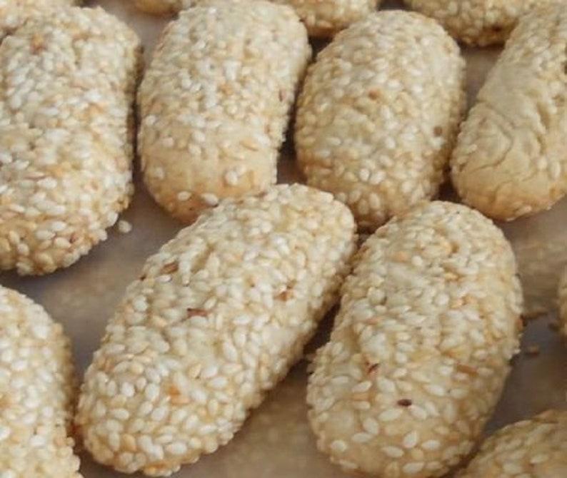 Italian Cookies Sesame Seed Cookies Italian Sesame Seed image 0
