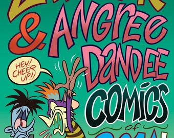 Zad Zak & Angree Dandee Comics of 2014! - Comic Book