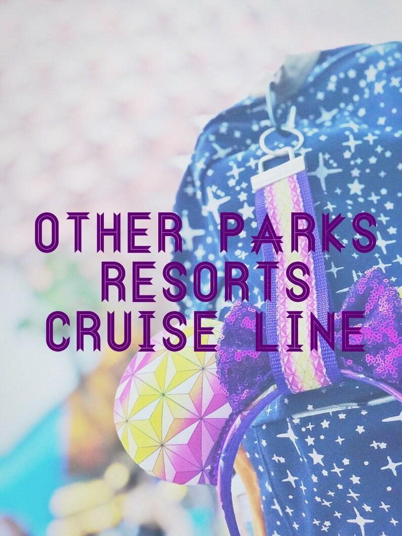 Ear Buddy Keyfob Parks Resorts Cruise Line Mouse Ears Holder image 0