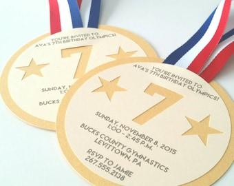 Gold Medal Invitation - Pack of 10