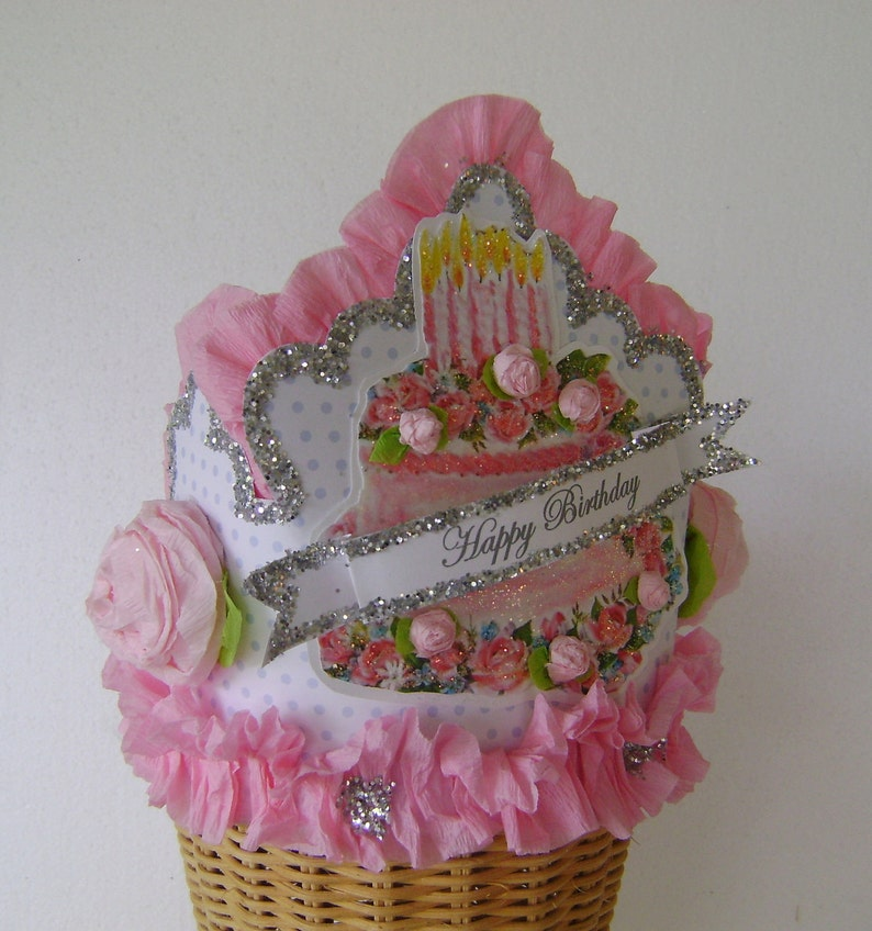 Birthday Hat Crown Cake Fits Adult Or Child Customize It