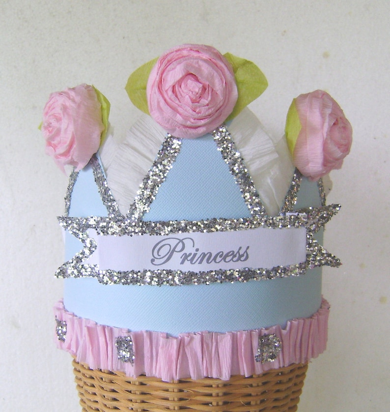 Birthday Party hat Birthday Party Crown Princess crown customized birthday hat