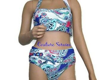c8f538269eb26 Blue Bikini Swimsuit