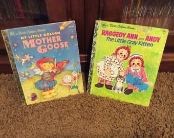 2 Charming Little Golden Books