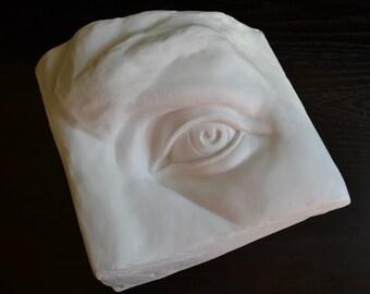 Sculpture, Eye Sculpture, MichelAngelo, Eye of David Sculpture-Free Shipping