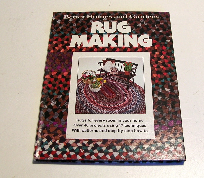 Rug Making Better Homes And Gardens Vintage Craft Book Etsy