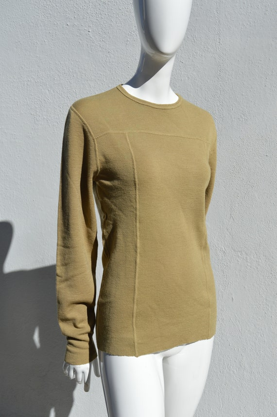 Vintage 70's Rue Royale sweater designed by NINO C