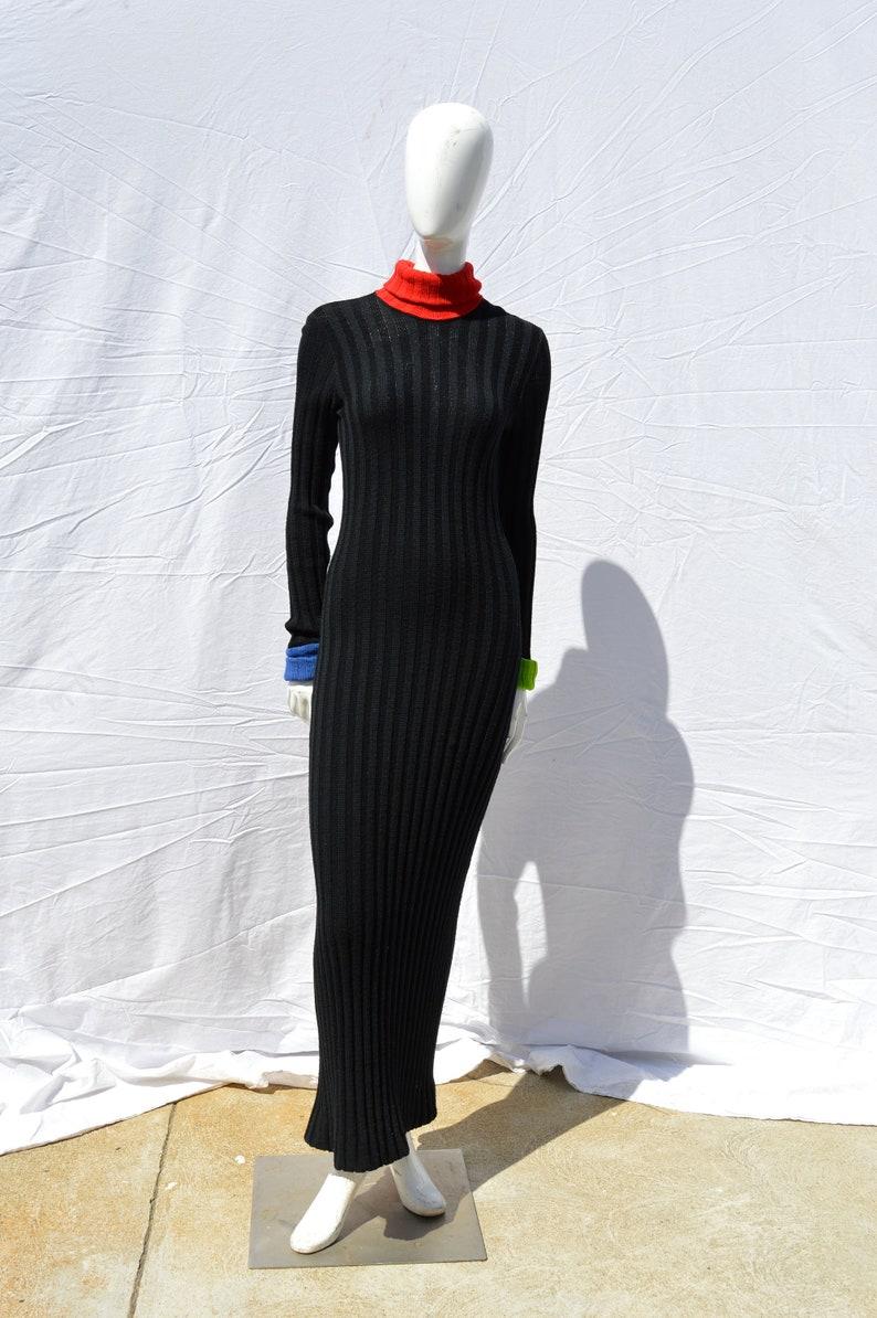 36733ac3d04 Vintage 70 s RUDI GERNREICH for Harmon Knitwear bodycon