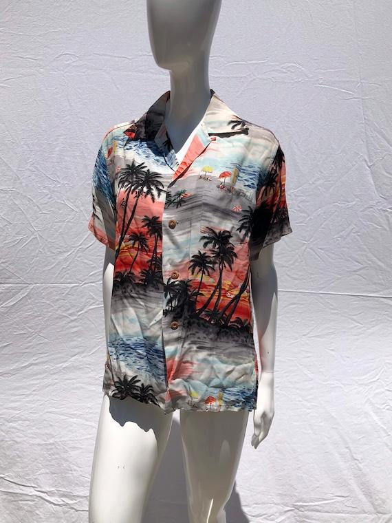 Vintage 50's IOLANI Hawaiian shirt small unisex su