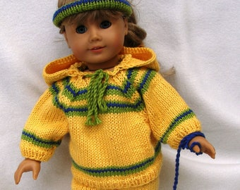 Working Out Doll Knitting Pattern