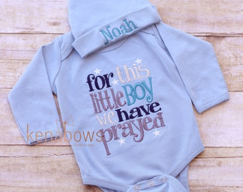 d5558f9ee Newborn Baby Gown  Grey Infant Boy Gown For This Little Boy I