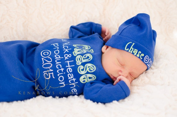 a71efe79cc3 New Baby Boy Outfit Personalized Parent Production Birth