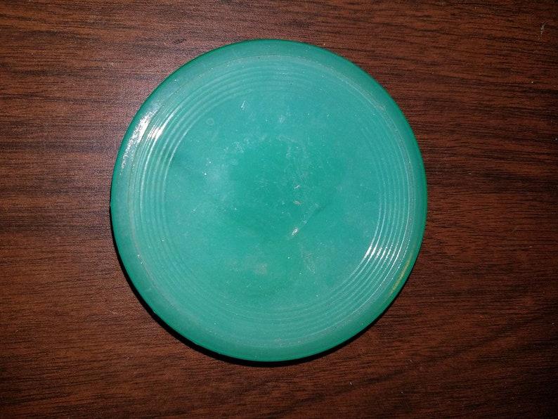 Vintage Jadeite Childrens Saucers Toy Dishes Fire King Anchor Hocking