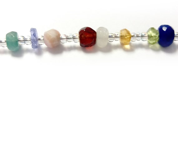 Family Bracelet Birthstone Timeline, 1 Bead =1 Year, Chronological, Mother Grandmother's Bracelet, Grandkids, Customized, by Chain of Being
