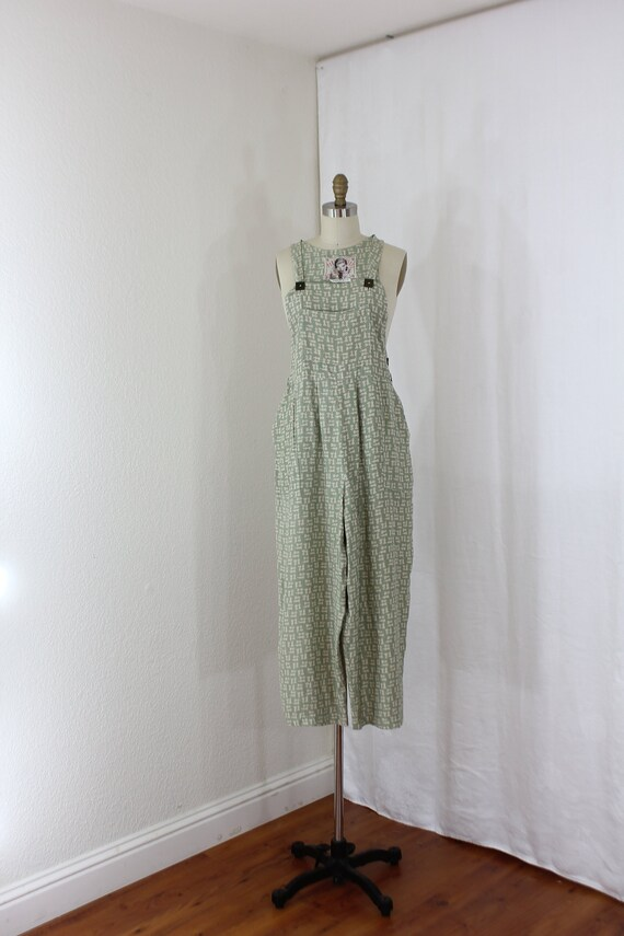 Womens overall in sage green Size 2