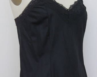 Vintage Camisole by Deena in Black 1980s