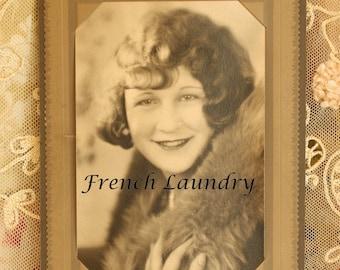 Antique 1920's Flapper Cabinet Photo