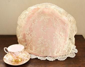 Antique Schiffli Lace Tea Cozy
