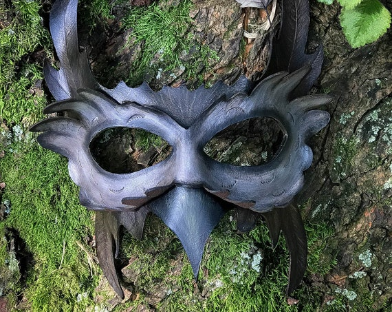Owl Leather Mask