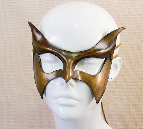Super Hero / Villain Leather Mask