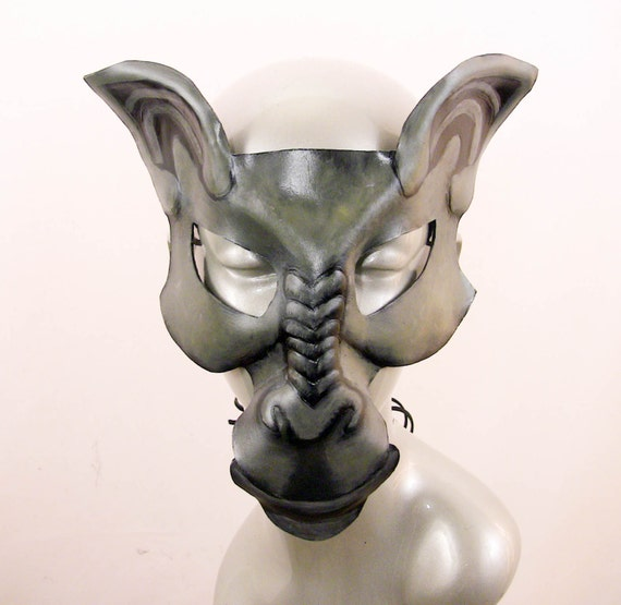 Gargoyle Leather Mask - Loki