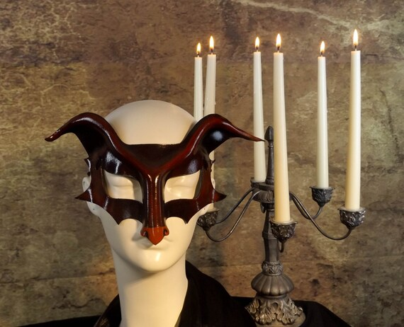 Demon Leather Mask