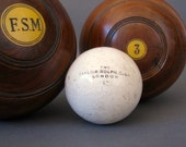 1 Antique Lawn Bowls Jack from England  - Vintage Bowling Jack - The Taylor Rolph Co Ltd London Lawn Bowl Jack