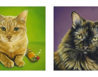 Custom Pet Portrait - Series of two portraits