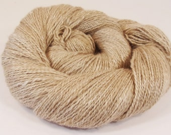 Handspun  Baby Camel / Silk  50/50  412  Yd.