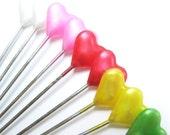 Heart Pearl Head Pins-decorative Sewing Pins