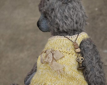 To Have And To Hold, OOAK Mohair Artist Teddy Bear From Aerlinn Bears