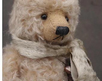 Peregrine, One Of a Kind  Mohair Artist Teddy Bear from Aerlinn Bears