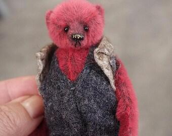 """Lottie, Miniature 3 1/2"""" Artist Bear from Aerlinn Bears"""