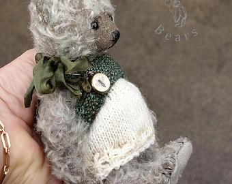 Possum, OOAK  Mohair Artist Teddy Bear  from Aerlinn Bears