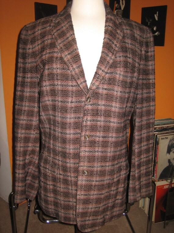 50s Original Mens Tweed Jacket