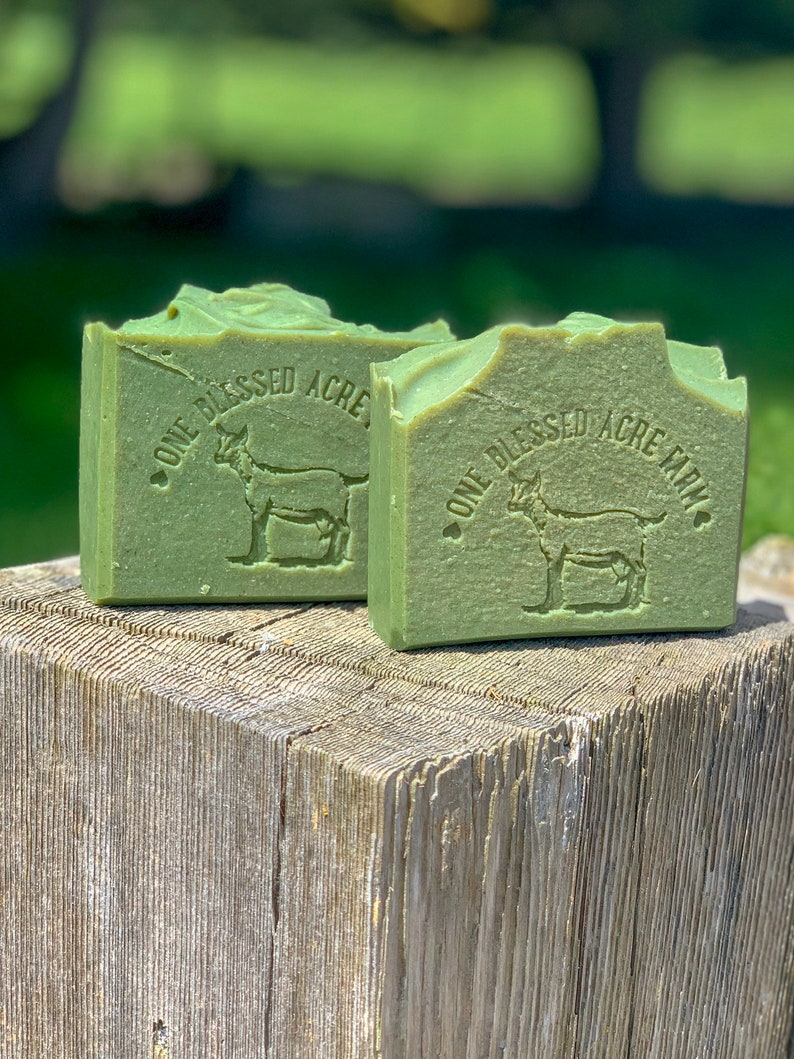 WILD HONEYSUCKLE  Handcrafted Goat Milk Soap Coconut and image 0
