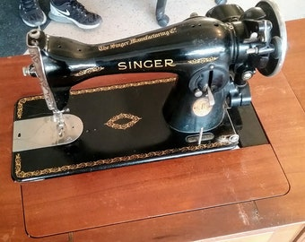 Fine Singer Sewing Table Etsy Home Interior And Landscaping Transignezvosmurscom