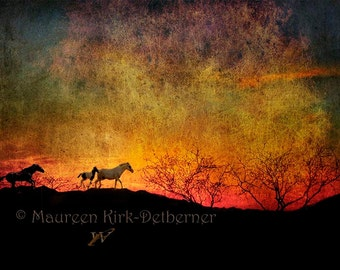 Photo Horse wall art large wall art horse decor photography home decor gift for her horses horse gifts horse art