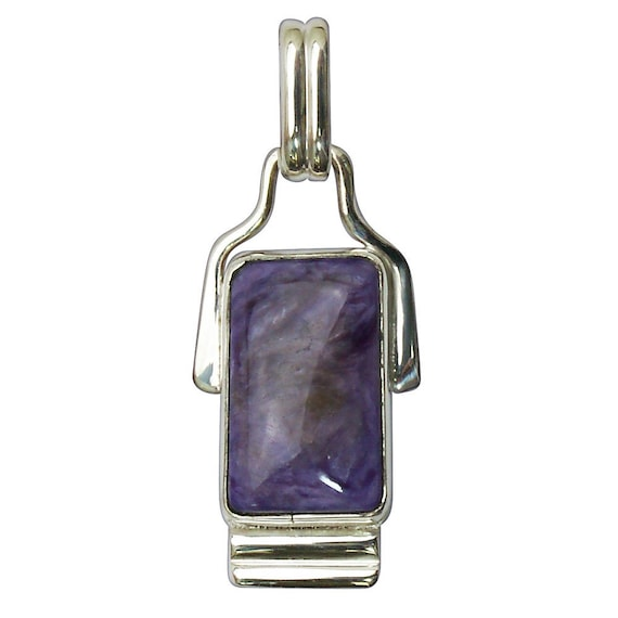 Charoite Pendant set in Sterling Silver  pchtf2829