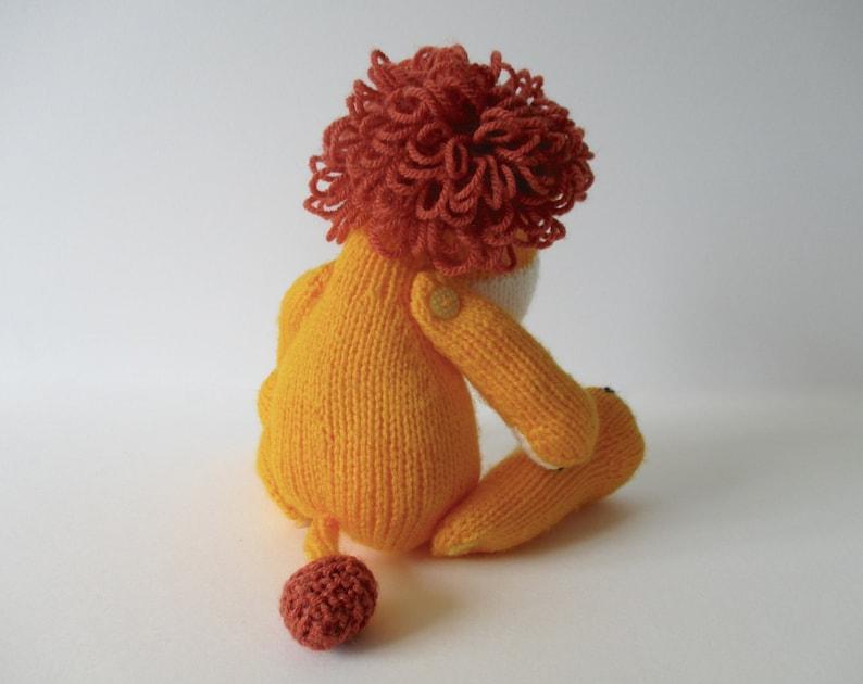 Samson the Lion toy knitting pattern   Etsy