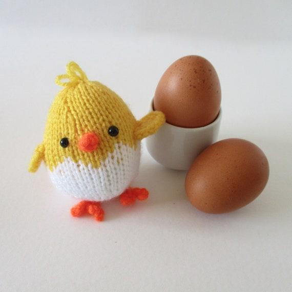 Eggy Chicks toy knitting patterns