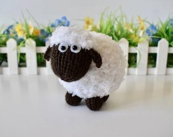 Baa-Bara the Sheep toy knitting patterns