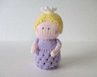 Princess Charlotte toy doll knitting patterns