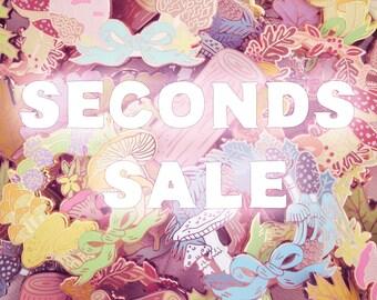 Seconds Sale Enamel Pins
