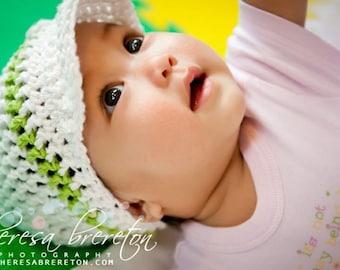 Cotton Visor Beanie for Baby Gaga-Hat No. 9