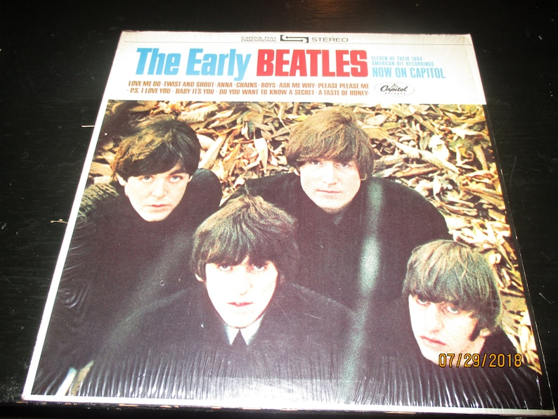 2d5b449d6fd79 The Beatles NM- vinyl - The Early Beatles - Vintage cover in Mint Condition