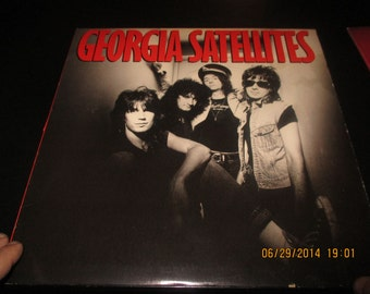 Georgia Satellites Self Title -  Original - Vintage VInyl Lp in NM- Condition Vinyl Record