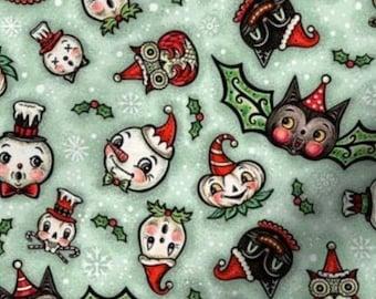 Spooky Vintage Christmas Dog Collar - Custom Dog Collar