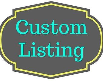 Custom Listing for Jorge