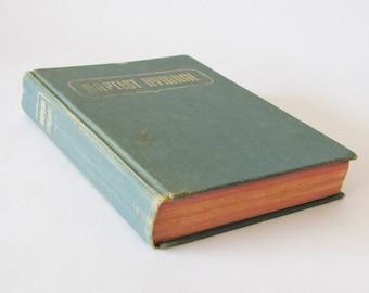 Vintage Baptist Hymnal 1956